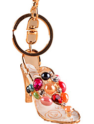 cheap -Key Chain Toys Novelty Crystal Shoes Unisex Pieces
