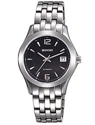 WeiQin Pánské Dámské Hodinky k šatům Módní hodinky Náramkové hodinky Automatické natahování Nerez Kapela