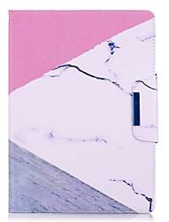 держатель карты с мраморным рисунком с подставкой с флип-магнитной сумкой с кожаной сумкой с рисунком для Samsung Galaxy Tab s2 t810 t815