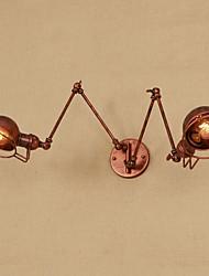 Недорогие -Винтаж / Ретро / Традиционный / классический Подголовники Металл настенный светильник 110-120Вольт / 220-240Вольт / E26 / E27