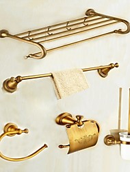 cheap -Bathroom Accessory Set Antique Antique Brass Wall Mounted