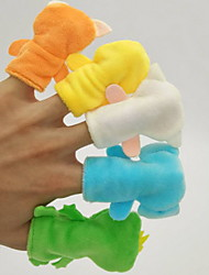 cheap -Reading Toys Finger Puppet Toys Cartoon For Bedtime Stories Animals 7 Pieces