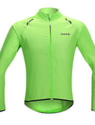 cheap -SANTIC Men's / Women's / Unisex Cycling Jacket Bike Raincoat / Ultraviolet Resistant Jacket / Jacket Waterproof, Quick Dry, Windproof