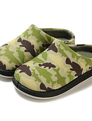 cheap -Boys' Shoes Fabric Spring Fall First Walkers Comfort Slippers & Flip-Flops Magic Tape for Casual Green Pink