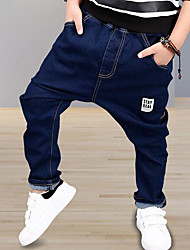 Boys' Solid Pants,Others Fall Blue