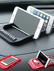 Недорогие -Автомобильный универсальный держатель для мобильного телефона подставка для приборной панели авто временная карта парковки автомобиля против скольжения липкий коврик коврик держатель GPS