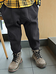 Boys' Solid Pants-Cotton Winter