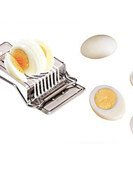 1PC Egg Slicer Cutter Stainless Steel Multifunction Sectione Cutter Mold Edges Kitchen Tool