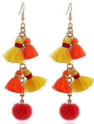 Women's Drop Earrings Sweet Alloy Geometric Jewelry For Daily Work