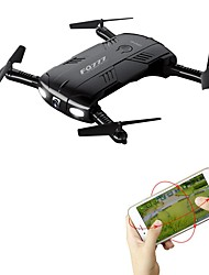 abordables -RC Drone FQ777 FQ777-05 4 canaux 6 Axes Wi-Fi Avec l'appareil photo 0.3MP HD Quadri rotor RC Mini Lampe LED Retour Automatique Mode Sans