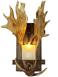 настенный светильник Потолочный светильник 220 Вольт E14 Деревенский стиль Деревенский