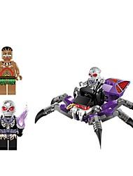Недорогие -ENLIGHTEN Конструкторы Игрушки Пауки SPIDER Животные Пираты Non Toxic Взрослые Мальчики 70 Куски