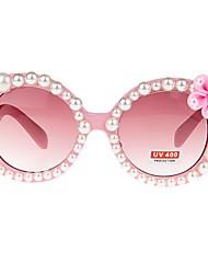 baratos -Para Meninas Óculos Todas as Estações Resina com clip de metal Rosa