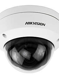 baratos -hikvision® ds-2cd2155fwd-i câmera ip 5mp (dc12v & poe 30m ir built-in slot sd h.265 ip67 ik10 3d dnr ajuste de 3 eixos)