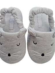 cheap -Girls' Shoes Cotton Winter Fall Comfort Slippers & Flip-Flops for Casual Gray