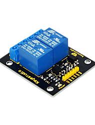 economico -keyestudio modulo relè a 2 canali 5v per braccio arduino pic avr dsp electronic