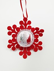 cheap -Christmas Decorations Christmas Party Supplies Christmas Tree Ornaments Toys Ball Snowflake Holiday Holiday Pieces