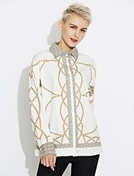 cheap -Women's Club Vintage Shirt Print Shirt Collar