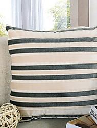 Comfortable Poly/Cotton Pillowcase Striped