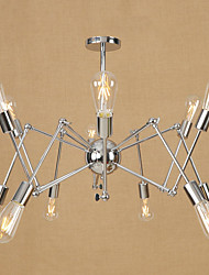 cheap -Retro/Vintage Country Traditional/Classic Modern/Contemporary Chandelier For Dining Room Shops/Cafes AC 110-120 AC 220-240V Bulb Not