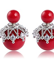 cheap -Women's Stud Earrings Imitation Pearl Alloy Jewelry For Daily Date