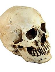 Недорогие -Хэллоуин дурак день поставок новизны творческих игрушек ужас смешно spoof весь реквизит смолы скелет голову украшения