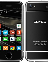 economico -telefono cellulare android di soyes 6s (512mb + 4 gb 2 mp dual core 1100 mah)