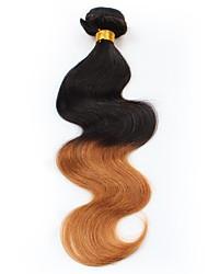 cheap -Peruvian Hair Unprocessed Body Wave Human Hair Weaves 1pc Natural Color Hair Weaves