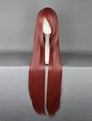 cheap -Cosplay Wigs Fairy Tail Little Devil Anime Cosplay Wigs 100 CM Heat Resistant Fiber Unisex