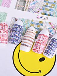 Недорогие -12 Наклейки Набор Наклейка для переноса воды Стикер Мода Повседневные Высокое качество