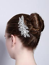 abordables -strass en alliage cheveux peignes 1pc bandeau classique style féminin