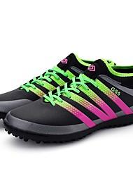 baratos -Homens sapatos Couro Sintético / Couro Ecológico Verão / Inverno Solados com Luzes Tênis Futebol Cinzento Escuro / Verde / Azul