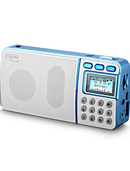cheap -NOGO R908 Loud Speaker FM Radio Multi-Functional Carrying Light and Convenient Desk Decoration No Micro USB 3.5mm AUX TF Card Slot