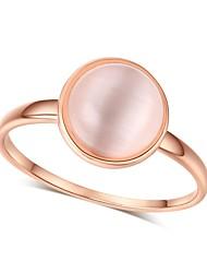 economico -Per donna Fedine Opal sintetico Vintage Elegant Opale Circolare Gioielli Per Matrimonio Evento