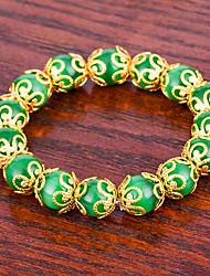 economico -bracciale da donna per uomo braccialetto onyx asiatico bella moda regalo gioielli palla agata per il giorno di natale