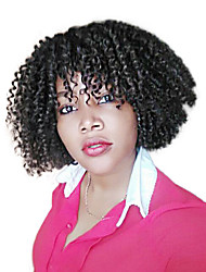 cheap -Braiding Hair Curly / Bouncy Curl / Island Twist Pre-loop Crochet Braids Toyokalon Hair / Kanekalon 60 roots / pack, 3pcs / pack Hair Braids Ombre Short Ombre Braiding Hair / Crochet Braids