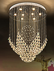 cheap -Artistic Nature Inspired LED Chic & Modern Country Traditional/Classic Modern/Contemporary Crystal Bulb Included Designers Chandelier