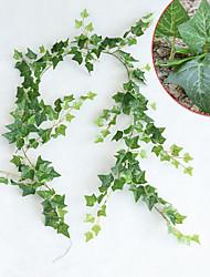 abordables -1 Une succursale Soie Plantes Guirlande et Fleur Murale Fleurs artificielles