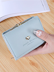 cheap -Women Bags PU Wallet 2 Pieces Purse Set Flower(s) for Shopping Casual All Season Blue Black Blushing Pink Purple