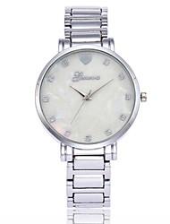 baratos -Homens / Mulheres Relógio de Pulso Chinês imitação de diamante Metal / Lega Banda Luxo / Casual / Fashion