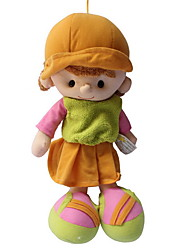 """Недорогие -Плюшевая кукла Кукла для девочек Мода 35cm Милый стиль Для детей Мягкость Безопасно для детей Милый Свадьба Дизайн """"Мультфильмы"""" Non"""