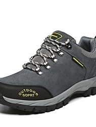 povoljno -Muškarci Cipele Brušena koža Proljeće Jesen Udobne cipele Sneakers Planinarenje Vezanje za Kauzalni Sive boje Braon Zelen