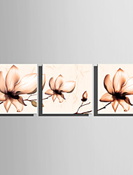 cheap -Prints Poster Wall Painting Colorful Flower Home Decorative  Pictures Print On Canvas  3pcs/set (Without Frame)