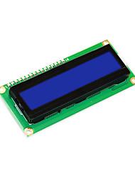 abordables -keyestudio 16x2 1602 module d'affichage i2c / twi lcd pour arduino uno r3 mega 2560 blanc en bleu