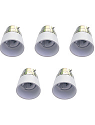 B22 to E14 Quick Bulb Converter Bulb Accessory 5Pcs