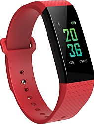 cheap -Smart Bracelet Touch Screen Calories Burned Pedometers Exercise Record Distance Tracking Dual Time Zones Camera Control Touchscreen