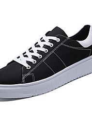 economico -Da uomo Scarpe Denim Primavera Autunno Comoda Sneakers per Casual Nero Arancione Beige Grigio