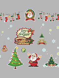 Jul Højtid Vægklistermærker Fly vægklistermærker Dekorative Mur Klistermærker,Vinyl Hjem Dekoration Vægoverføringsbillede For Væg Vindue