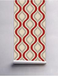 abordables -Damasco Fondo de pantalla Para el hogar Modern Revestimiento de pared , Tela no tejida Material adhesiva requerida papel pintado ,