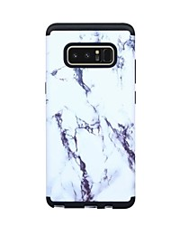 cheap -Case For Samsung Galaxy Note 8 Shockproof Full Body Cases Marble Hard PC for Note 8